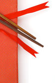 Chinese wooden rods — Stock Photo