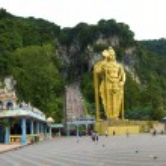 Batu caves świątyni, kuala lumpur, Malezja — Zdjęcie stockowe #2848344