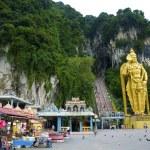 Batu caves tempel, kuala lumpur, malasia — Stockfoto