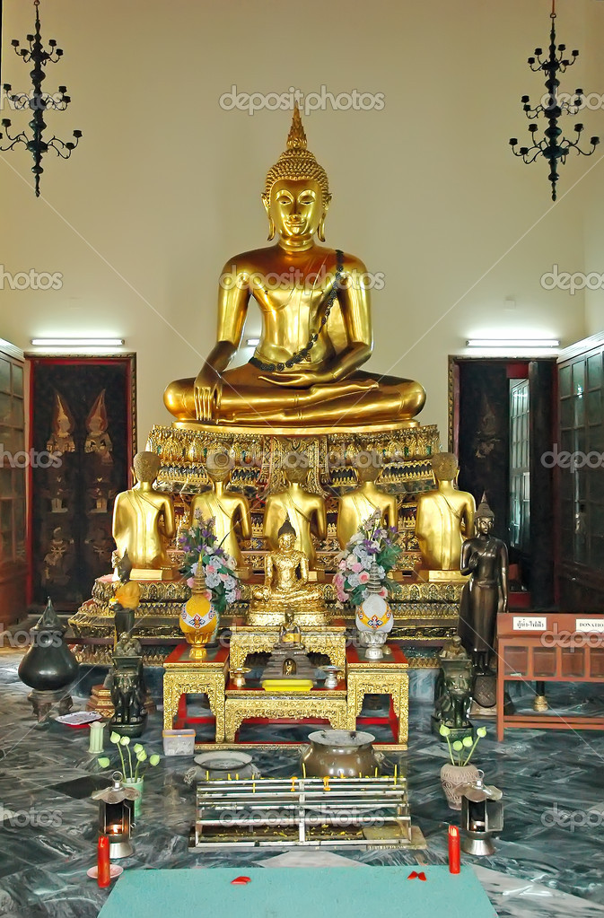 Wat Pho, Bangkok, Thailand, Asia — Stock Photo #2753381