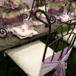 Stock Photo: Bridal table