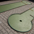 Minigolf tracks - Stock Photo