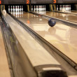 Playing bowling — Stock Photo