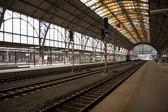 Prague main station — Stock Photo