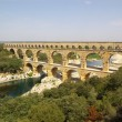 Pont du garde roman bridge — Stock Photo #2872223