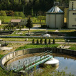 Waste water treatment — Stock Photo