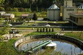 Tratamiento de aguas residuales — Foto de Stock