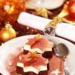 Christmas ice cream — 图库照片
