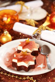 Christmas ice cream — Stock fotografie