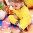 Cute child playing — Stock Photo #3069588