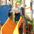 Stock Photo: Kid at playground