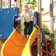 Kid at playground — Stock Photo
