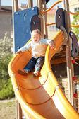 Kid at playground — Stock Photo