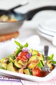 Baked vegetable — Stock Photo
