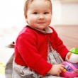 Stock Photo: Portrait of cute baby