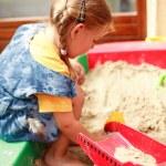 Kid op speelplaats — Stockfoto #3169955