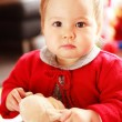 Portrait of cute baby — Stock Photo #3170005