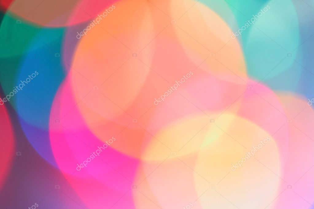Abstract colorful background of candlelights for Christmas  Stock Photo #3191362