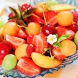 Fresh summer fruits — Stock Photo