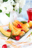 Fresh summer fruits — Stock Photo