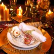 Luxury place setting - Foto de Stock  