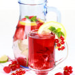 Refreshing summer ice tea — Stock Photo