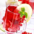 Refreshing summer ice tea — Stock Photo