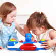 Adorable kids playing — Stock Photo