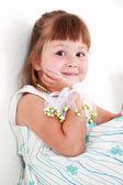 Cute smiling girl — Stock Photo