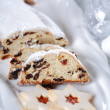 图库照片: Christmas cake and cookies