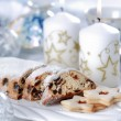 Christmas cake and cookies — Stock Photo #3741841