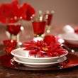 Luxury place setting — Stok fotoğraf