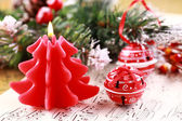 Christmas carol — Stok fotoğraf