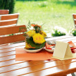 Outdoor restaurant — Stock Photo #3914584