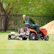 Royalty-Free Stock Photo: Mower