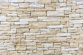 Wall made from sandstone bricks — Stock Photo