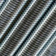 Close up of screw thread — Stock Photo