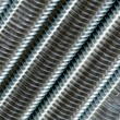 Stock Photo: Close up of screw thread