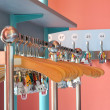 Cloakroom with empty clothes hangers — Stockfoto #2980062
