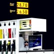 Gas station pumps — Stock Photo #3009700