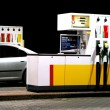 Stock Photo: Gas station pumps
