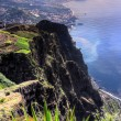 South coast of Madeira island, view from Cabo Girao — Stock Photo