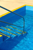 Steps into a swimming pool - detail — Stock Photo