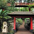Monte Palace Tropical Garden — Stock Photo