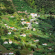 Village on the north coast of Madeira island — Stock Photo