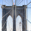 Brooklyn Bridge in New York City — Stock Photo #3192703