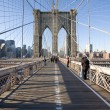 Brooklyn Bridge in New York City — Stock Photo #3192713