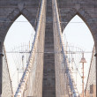 Brooklyn Bridge in New York City — Stock Photo #3192714