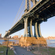Manhattan Bridge in New York City — Stock Photo