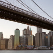 Brooklyn Bridge in New York City — Stock Photo #3192739